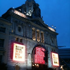 Photo taken at Victoria Palace Theatre by Kevin H. on 10/20/2012