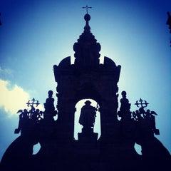 Photo taken at Catedral de Santiago de Compostela by Rafael S. on 6/21/2013