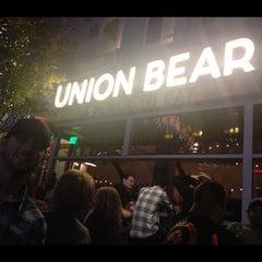 Photo taken at Union Bear by Brandon A. on 12/2/2012