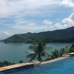 Photo taken at Santhiya Resort And Spa Koh Phangan by Jeremy S. on 11/22/2012