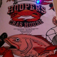 Photo taken at Hooper's Crab House by Rosie V. on 10/1/2012