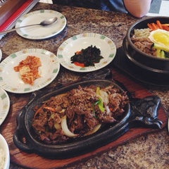 Photo taken at Kim Baek Korean Restaurant by Mina on 7/10/2014