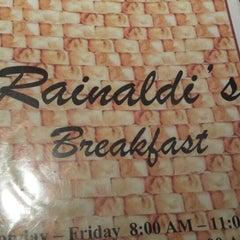 Photo taken at Rainaldis by Alex L. on 12/29/2013
