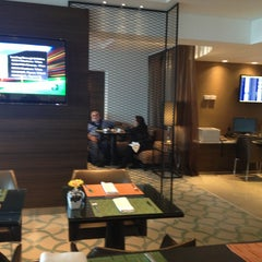 Photo taken at JW Marriott Hotel Lima (Executive Lounge) by Mario A. on 6/16/2013