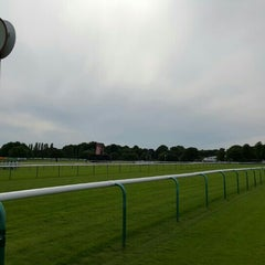 Photo taken at Haydock Park Racecourse by Mark L. on 7/3/2015