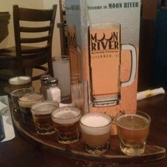 Photo taken at Moon River Brewing Company by denise p. on 5/23/2013
