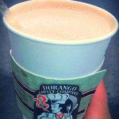 Photo taken at Durango Coffee Company by AL B. on 7/5/2013