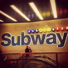 Photo taken at MTA Subway - 42nd St/Times Square/Port Authority Bus Terminal (A/C/E/N/Q/R/S/1/2/3/7) by Kenz J. on 4/21/2013