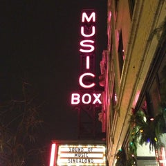 Photo taken at Music Box Theatre by Lindsay on 11/25/2012
