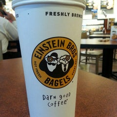 Photo taken at Einstein Bros Bagels by Luke G. on 6/2/2013