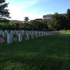 Photo taken at Alexandria National Cemetery by danielle w. on 5/24/2014