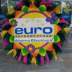 Photo taken at EURO Supermercado La Frontera by Juan Carlos M. on 8/19/2013