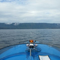 Photo taken at Danau Toba by Tyo N. on 1/24/2013