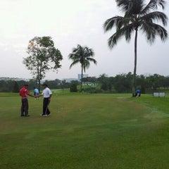 Photo taken at Danau Golf Club by fadzly j. on 9/22/2012