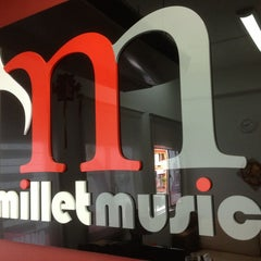 Photo taken at Millet Music by Eric L. on 2/12/2013