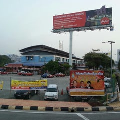 Photo taken at Sungai Nibong Express Bus Terminal by EAT OUT on 3/12/2013