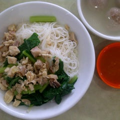 Photo taken at Bakmie Boy by Marsha A. on 2/24/2013