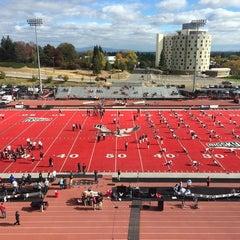 Photo taken at Roos Field by Spokane C. on 10/18/2014