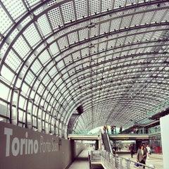 Photo taken at Stazione Torino Porta Susa by Andrea G. on 5/31/2013