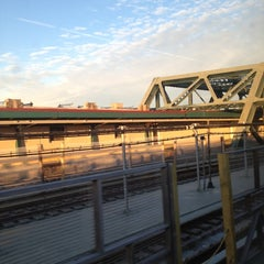 Photo taken at MTA Subway - 4th Ave/9th St (F/G/R) by Chris P. on 11/1/2012