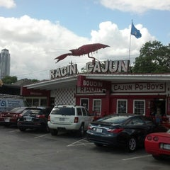 Photo taken at Ragin Cajun by Michael R. on 3/29/2013