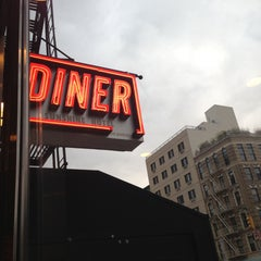 Photo taken at The Bowery Diner by Keith M. on 4/23/2013