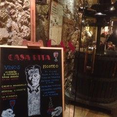 Photo taken at Casa Rita by Borja on 10/31/2013