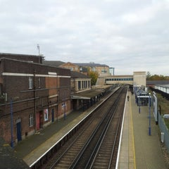 Photo taken at Feltham Railway Station (FEL) by Borja on 11/9/2012