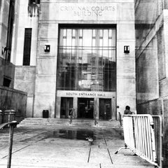 Photo taken at New York City Criminal Court by Steve R. on 9/18/2012