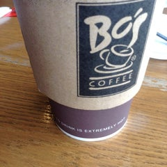 Photo taken at Bo's Coffee by Ana A. on 12/15/2012