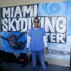Photo taken at Miami Skydiving Center by Rossella Z. on 2/1/2014