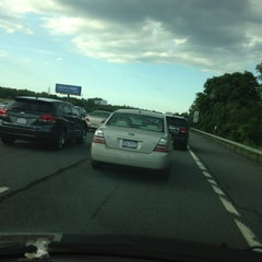Photo taken at I-787 Albany by Gina S. on 8/16/2013