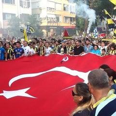 Photo taken at Bağdat Caddesi by Murat K. on 6/30/2013