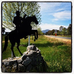 Photo taken at Corryong, Victoria by Troy B. on 10/5/2013