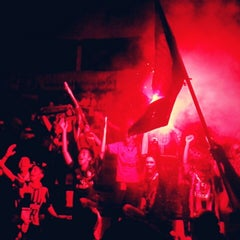 Photo taken at Base Camp Milanisti Indonesia by Mazdhanu M. on 12/22/2013