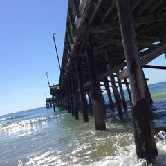 Photo taken at Newport Pier by Grant B. on 9/24/2013