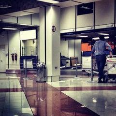 Photo taken at Bahrain International Airport (BAH) | مطار البحرين الدولي by Manal B. on 3/20/2013