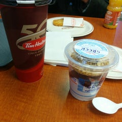 Photo taken at Tim Hortons by Eric L. on 11/7/2014