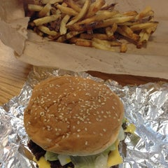 Photo taken at Five Guys by D.G. on 10/14/2012