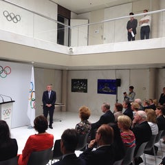 Photo taken at International Olympic Committee by @StratosAthens on 7/8/2014