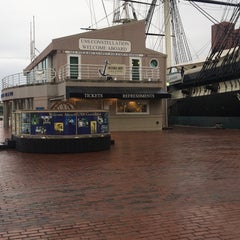 Photo taken at Historic Ships in Baltimore by Kortney E. on 5/21/2016
