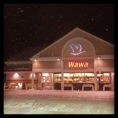 Photo taken at Wawa by Ed H. on 2/13/2014