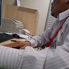 Photo taken at CIMB Bank by Nazrin Y. on 9/9/2014