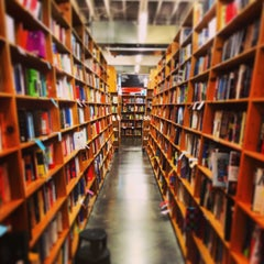 Photo taken at Powell's City of Books by andrew m. on 4/21/2013