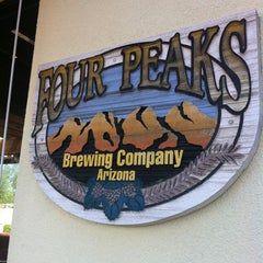 Photo taken at Four Peaks Grill & Tap by Jason M. on 10/1/2012