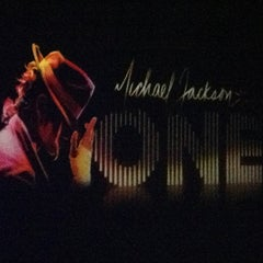 Photo taken at Michael Jackson ONE Theater by Ron Y. on 9/17/2013