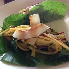 Photo taken at Longrain Restaurant & Bar by Christine F. on 12/20/2012