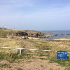 Photo taken at Souter Lighthouse by Paul W. on 9/12/2014