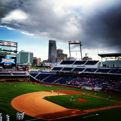 Photo taken at TD Ameritrade Park by Rebecca C. on 5/15/2013