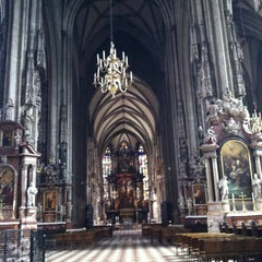 Photo taken at Stephansdom | St. Stephen's Cathedral by ValeriYA on 7/21/2013